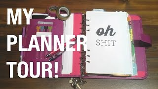 Filofax Planner Tour // My Everyday Planning & Blog Planner