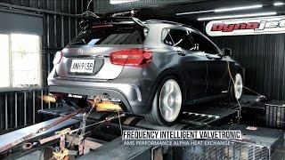Legend of Mercedes-Benz M133 GLA45 x Fi Exhaust - World Record 536whp / 499wtq