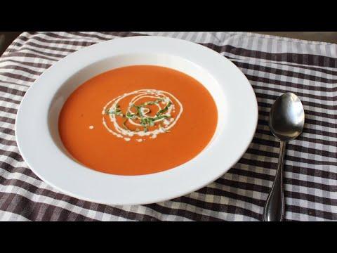 Tomato Bisque – Creamy Tomato Soup Recipe