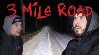REAL GHOSTLY VISITORS ON HAUNTED 3 MILE ROAD | OmarGoshTV