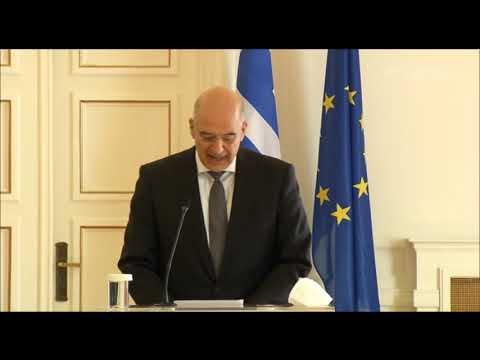 Δένδιας: Για ΑΟΖ και υφαλοκρηπίδα οι διερευνητικές με την Τουρκία  14/01/2021 ΕΡΤ