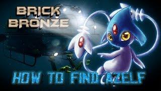 Uxie  - (Pokémon) - Roblox: Pokemon Brick Bronze - HOW TO FIND AZELF, UXIE AND MESPRIT!