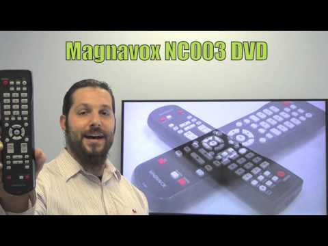 Magnavox NC003 DVD/HDD Player Remote Control