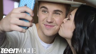 Justin Bieber Meets Two Inspiring (and Adorable) Super Fans | Teen Vogue