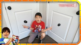 I Found A Secret Door To Ryan's Toys Review House #2 🚂😆🤣
