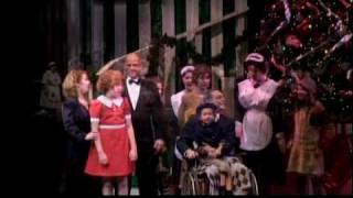 """New Deal For Christmas"" - ANNIE - Roger Lentz (Warbucks), Laura Dikeshier ( Grace)"