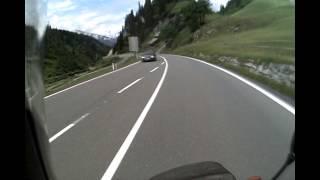 Western Austria 2012. Route   197 Avoiding The E60   Arlberg Tunnel