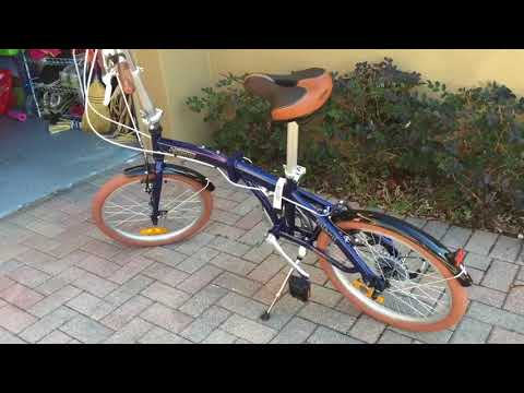 Citizen folding bike Miami Walk through