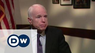 Джон Маккейн: Говорить с Путиным языком силы -  американский сенатор в