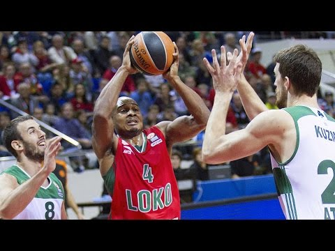 Highlights: RS Round 1, Lokomotiv Kuban Krasnodar 81-70 Panathinaikos Athens