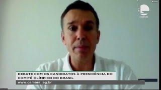 - Debate com os candidatos à presidência do Comitê Olímpico do Brasil - 24/09/2020 14:00
