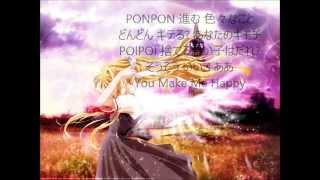 きゃりーぱみゅぱみゅ-PONPONPON-LyricsJapanese