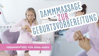 Dammmassage zur Geburtsvorbereitung | Hebammentipps von Anna-Maria | babyartikel.de