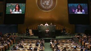 28 De SEP 70º Asamblea General De Las Naciones Unidas Cristina Fernández