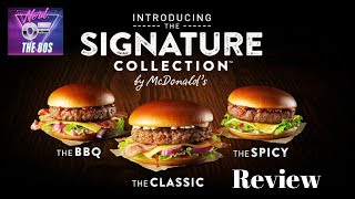 MCDONALD'S SIGNATURE COLLECTION CLASSIC BURGER FAST FOOD REVIEW UK - Video Youtube
