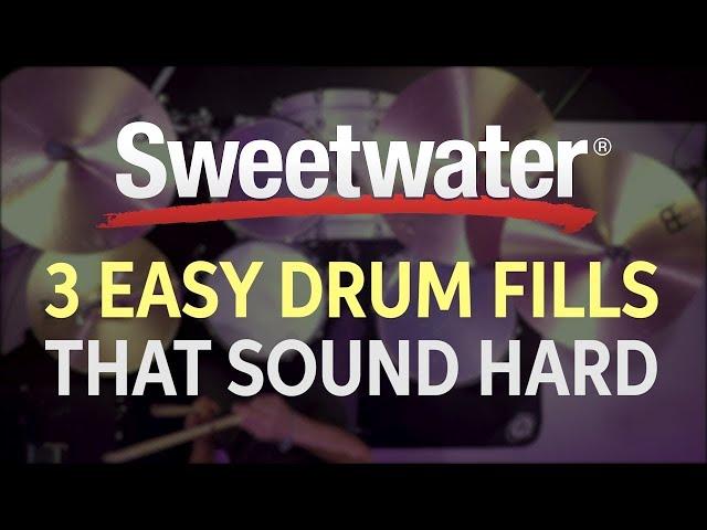 3 Easy Drum Fills That Sound Hard