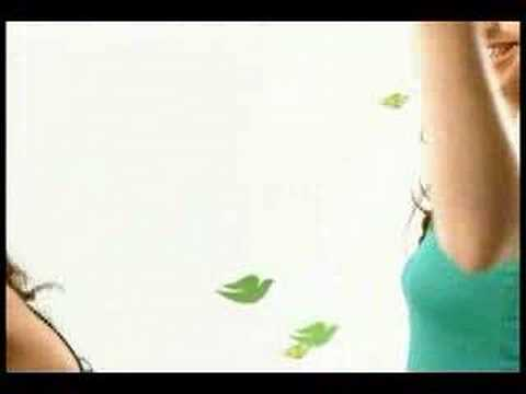 Dove Commercial for Dove Go Fresh Body Mist (2008) (Television Commercial)