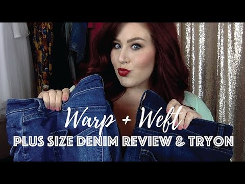 Best Plus Size Jeans EVER – Warp + Weft Denim Try On and Review