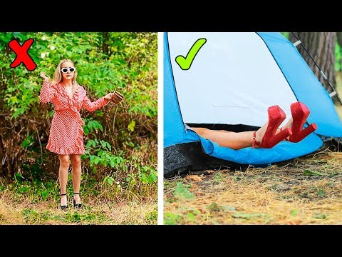 16 Camping Pranks And Life Hacks Download Youtube Video In Mp3 Mp4