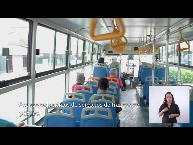 Beneficios del transporte público