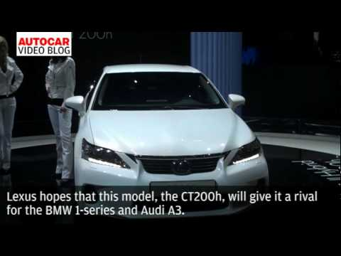 Geneva Motor Show: Lexus CT200h by autocar.co.uk