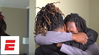 Shaquem Griffin reacts to being drafted by the Seattle Seahawks   ESPN