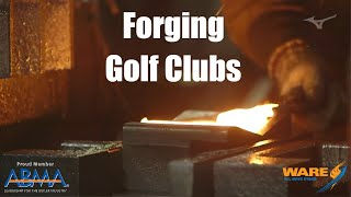 How Golf Clubs Are Made With Forging (With a Steam Hammer)