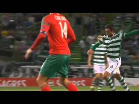 Спортинг Лиссабон - Локомотив Москва 1-3 17 сентября 2015.г видео