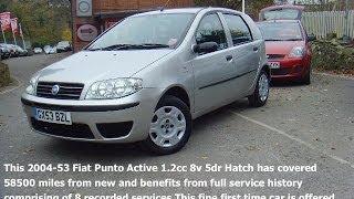 Fiat Punto Active 1.2cc 5dr  [01825 713793]
