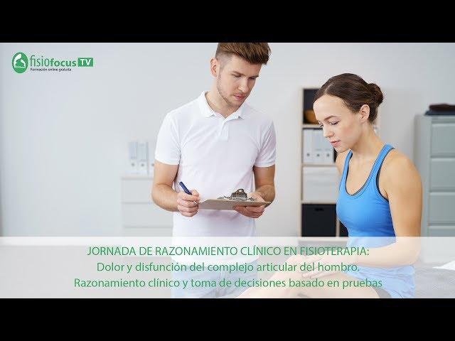 Jornada de Razonamiento Clínico en Fisioterapia: Ponencia de Rafel Donat
