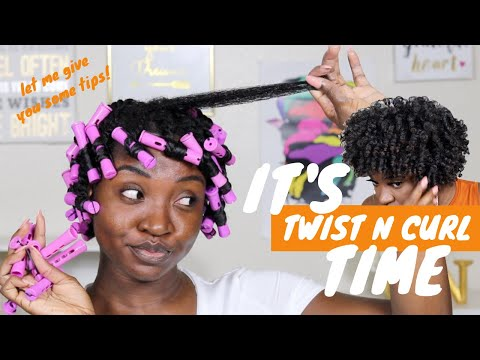 Twist n Curl on Natural Hair