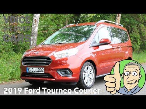 2019 Ford Tourneo Courier Fahrbericht Test Review Kaufberatung Familienauto mit Schiebetüren