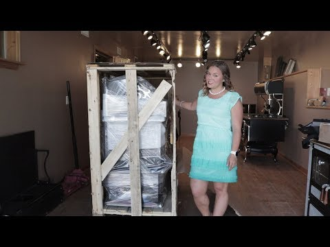 J.A. Roby Cookstoves - Uncrating Your New Stove