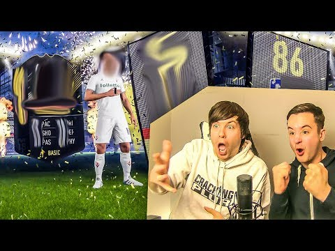 LUCKIEST PACKS TOGETHER... EVER!! - FIFA 18 PACK OPENING