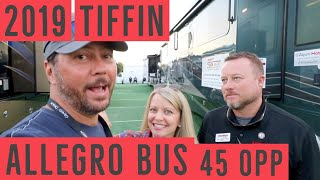 RV Tour 2019 Tiffin Allegro Bus 45 OPP (White Linen) | Changing Lanes!