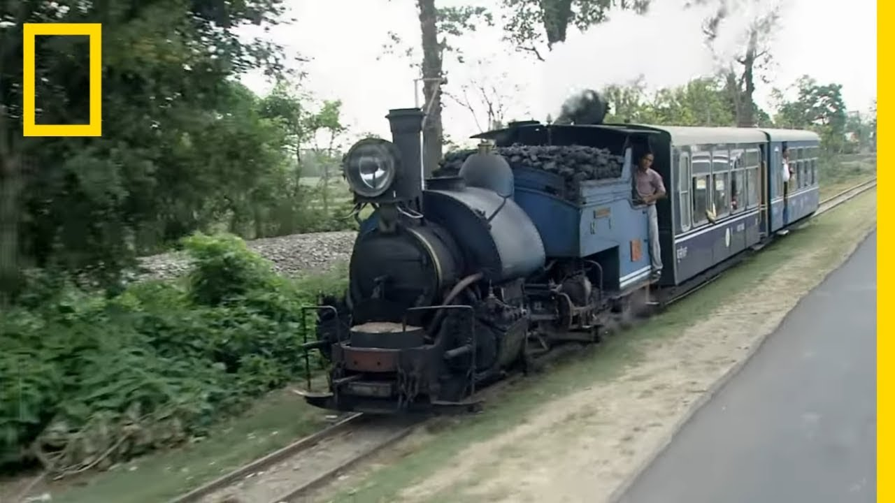 Take a Ride on One of India's Legendary Mountain Railways | National Geographic thumbnail