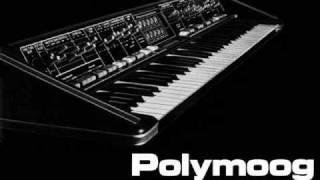 Gary Numan Replicas intro on busted Polymoog