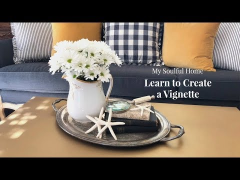 Transitional Vignettes - Decorating Tips Mp3