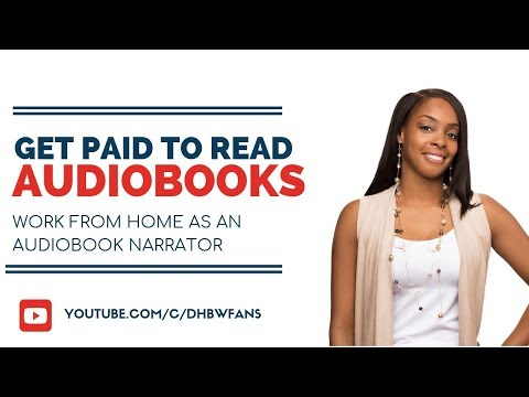 Get Paid To Read Books Online As An Audiobook Narrator