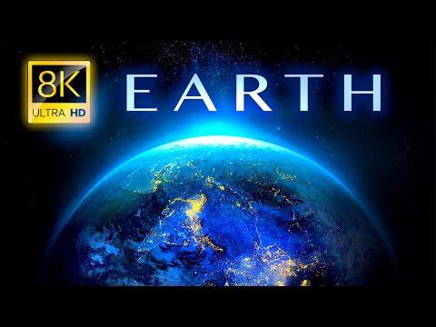 כדור הארץ באיכות 8K - סרטון טבע מרהיב