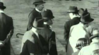 Neville Chamberlain Meets German Chancellor Adolf Hitler