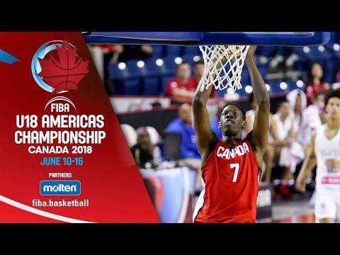 Puerto Rico v Canada – Semi-Finals – Re-Live (ESP) – FIBA U18 Americas Championship 2018