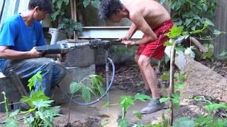 Máquina De Furar Poço Artesiano Manual E O Resultado Desse Trabalho.Surprising Inventions