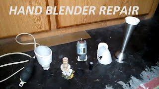 HAND BLENDER REPAIR   KENWOOD HB 615