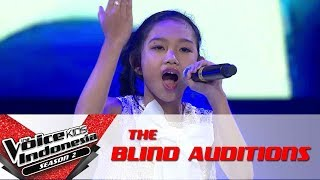"Nadya ""Bring Me To Life"" | The Voice Kids Indonesia Season 2 GlobalTV 2017"
