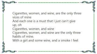 Chicory Tip - Cigarettes Women and Wine Lyrics