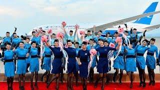 廈門航空首架波音787落戶暨新制服發佈/厦門航空初ボーイング787型機到着・新ユニフォーム発表