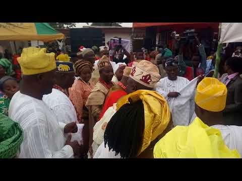 Thanksgiving Ceremony of HRM Oba Adedayo Alagbado Ogun State VID 20180216 151415