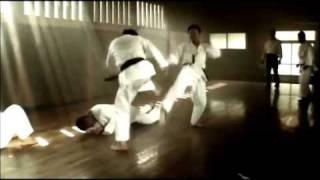 """Tatsuya Naka in """"Karate Girl""""."""