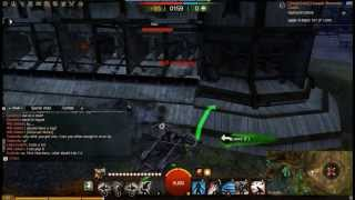 WvW Stonemist Castle Solo (Legendary Castle Lord Solo) (Guild Wars 2) (Thief)